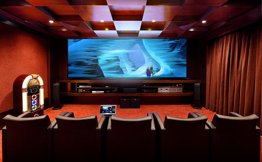 Dts cinema em casa - Sala cinema in casa ...